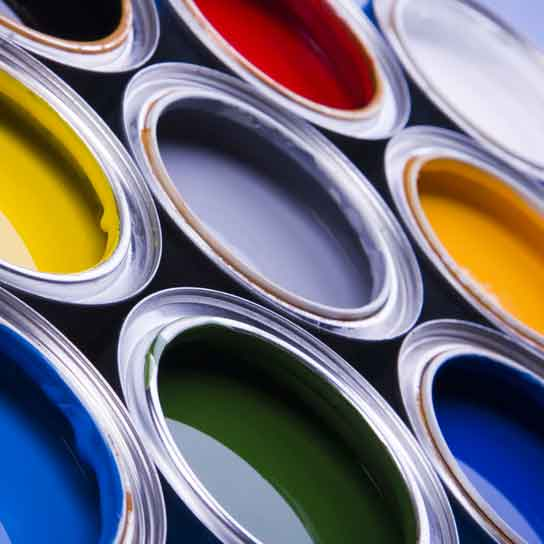 طرح توجيهي توليد رنگ ساختماني
