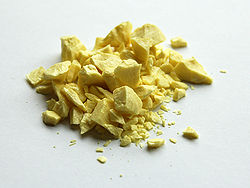 Sulfur طرح توجیهی کارخانه تولید گوگرد بنتونیتی
